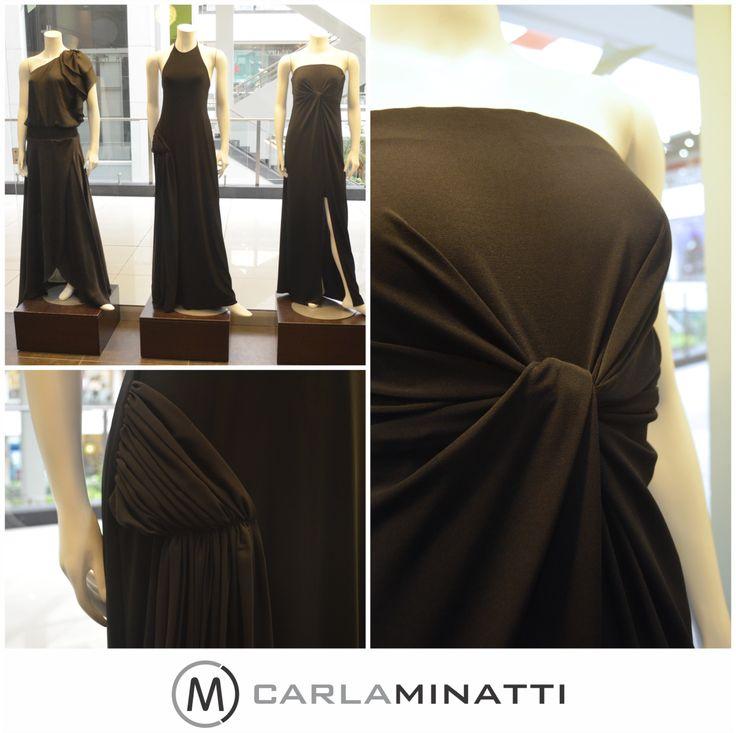 Nuevos vestidos en negro.