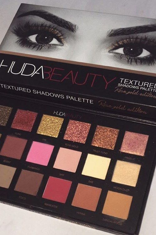 Huda Kattan Just Made the Perfect Palette to Go With Your Rose Gold Hair