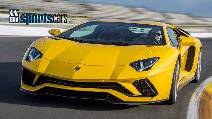 2017 Lamborghini Aventador S: Erster Test / Review / Sound - AUTO BILD S...