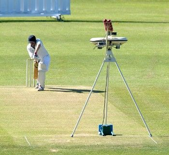#Bola cricket bowling machine. Creme de la creme of cricket #bowlingmachines. It is able to simulate spin, swing and pace bowling with 19 spin and swing settings. It has an adjustable speed setting with a maximum speed of 95 mph