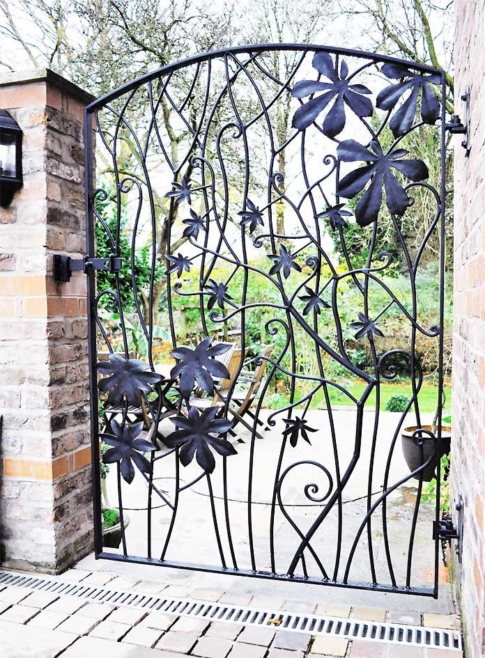 forged steel gate from David Freedman in England.