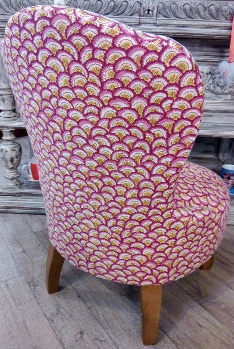 1000 id es sur le th me fauteuil anglais sur pinterest fauteuil bridge transat et fauteuil - Comment recouvrir un fauteuil crapaud ...