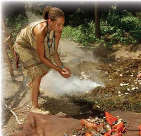 The Homestead Survival: A WAMPANOAG BAKE – Traditional Cooking Method