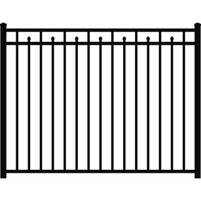 4 pack aluminum fence u003d 66 per panel