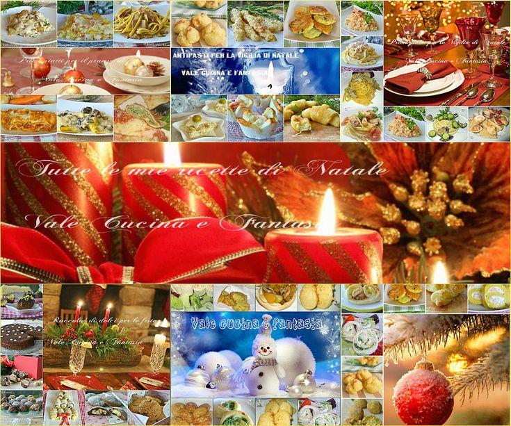 Raccolta di ricette per la Vigilia di Natale e Natale