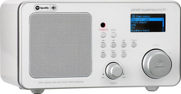 Kjøp PINELL SUPERSOUND II + DAB RADIO WHITE hos Expert.no - Norges raskeste nettbutikk! Alltid lave priser. FM, DAB+ og internettradio med Spotify Connect