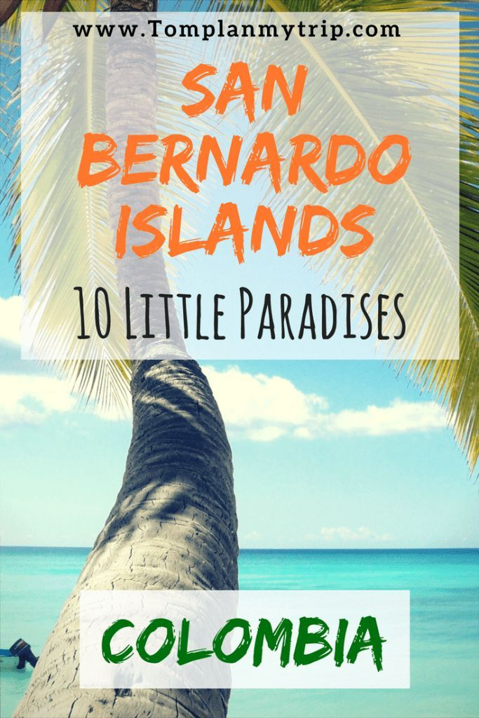 San Bernardo Islands are 3 hours away from Cartagena de Indias. San Bernardo Islands are unknown from the gringos and it's a fantastic opportunity to chill a few days without nobody around. Read our article to have a look at the pictures and learn everything you need about The San Bernardo Islands