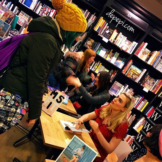 Last Sunday I went to Charli Howards ( @charlihoward ) event at Waterstones Brighton. MISFIT one size does not fit all is her present for us. The evening event with her and Gizze Erskine was emotional and inspiring. Guided by Juno Dawson the evening had funny moments but also touching ones. Charli Gizze and Juno talked about their experiences and left us with a great deal of inspiration. In special Charli who shared with us way more than I thought she would.  The evening was inspiring but…