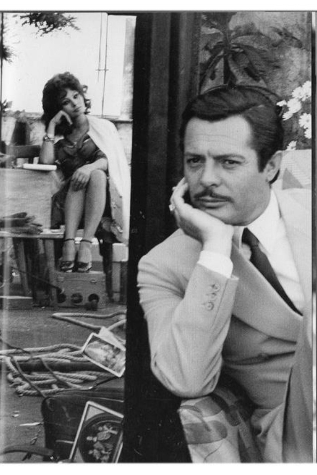 Sofia Loren e Marcello Mastroianni  Matrimonio all'italiana
