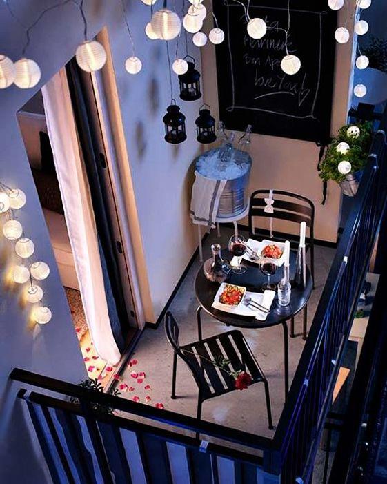 LUCES - Balcón chico, decoración grande | Laralá - Un sitio, mil ideas