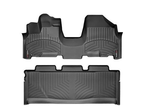 2008 Honda Odyssey   WeatherTech FloorLiner - car floor mats liner, floor tray protects and lines the floor of truck and SUV carpeting from ...