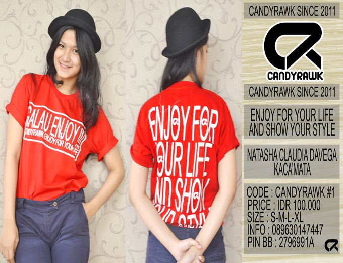 #33 | CANDYRAWK #1 | IDR 100.000 | SOLD OUT |