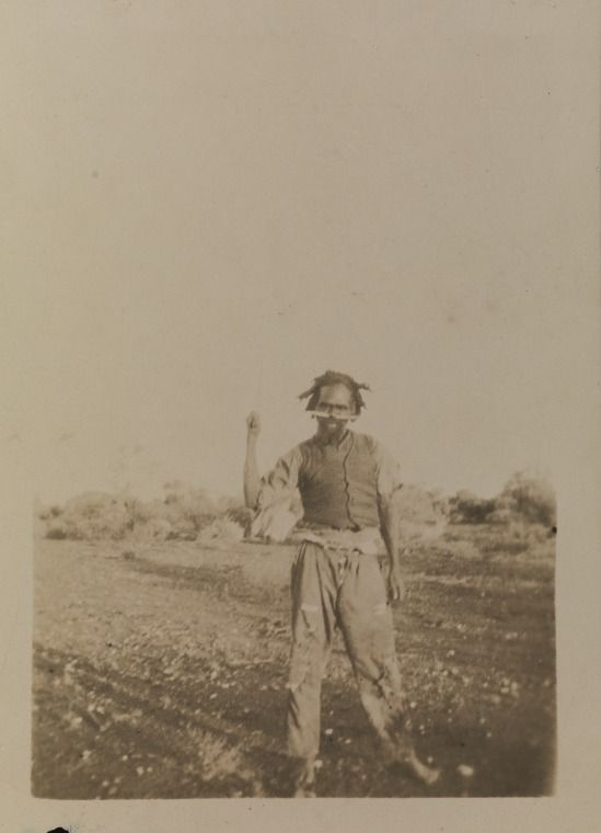 BA1340/ERA1/6C: A fully initiated man at Laverton, 1921 (Click to Start Zoom)