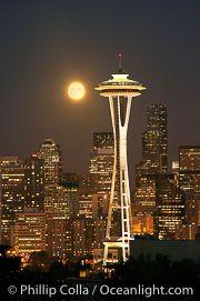 Luna şi Acul Spaţial 43 - Seattle, statul Washington, SUA