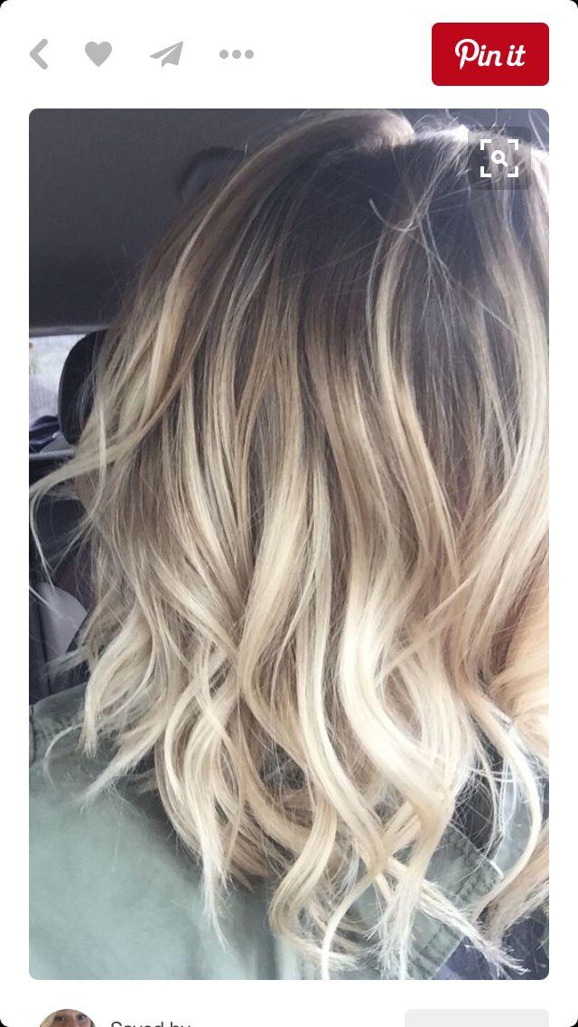 Balayage Short Hair Styles