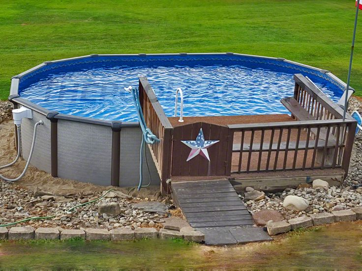 37 best above ground pool liners images on pinterest for High quality above ground pools