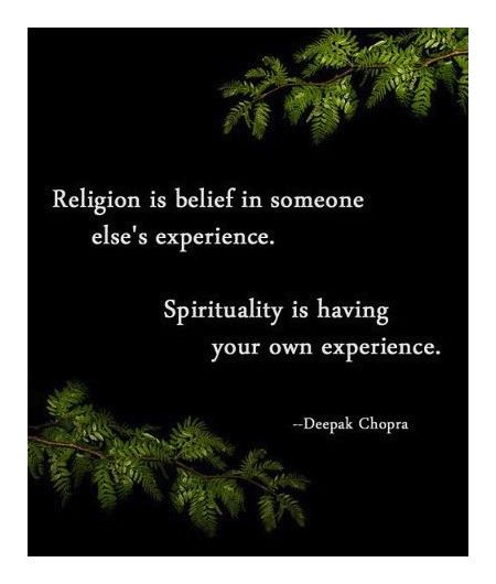 spirituality and religion Why is it important to learn more about religion vs spirituality aren't they  practically the same while there are similarities between religion.