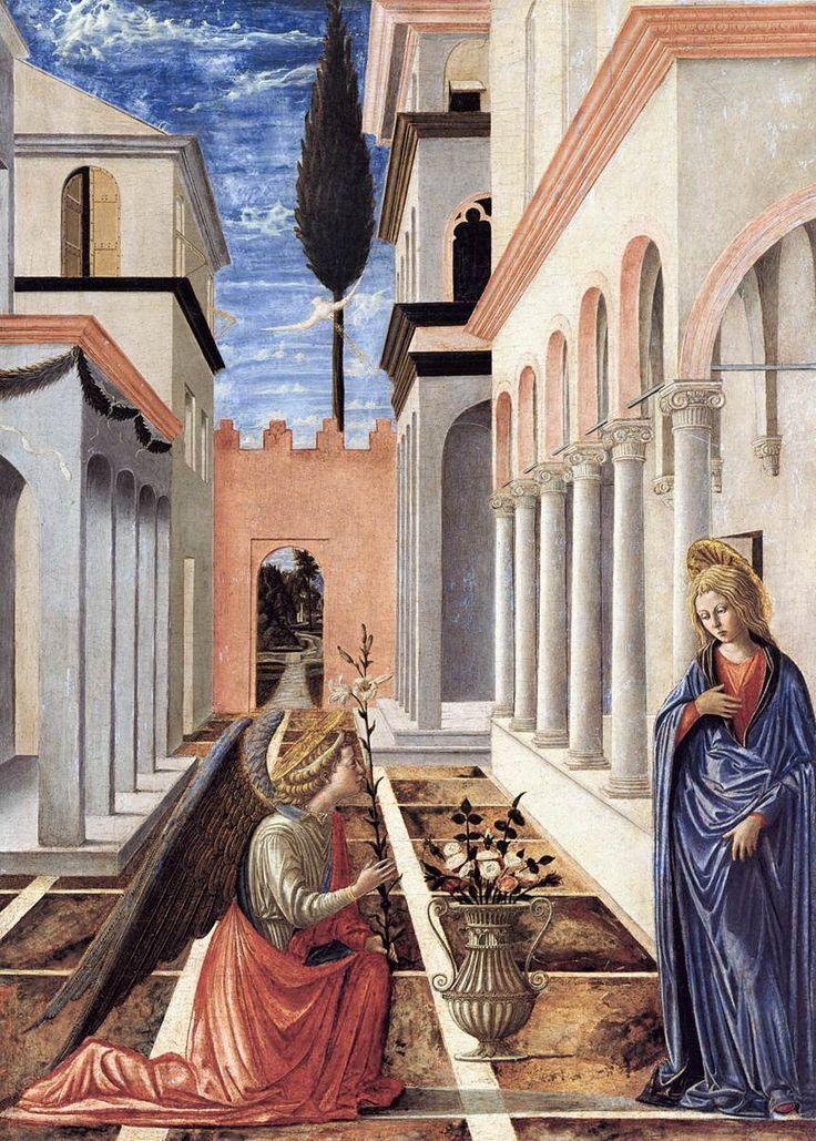 Annunciazione - (1448) tempera e olio su tavola - Fra Carnevale - National Gallery of Art, Washington