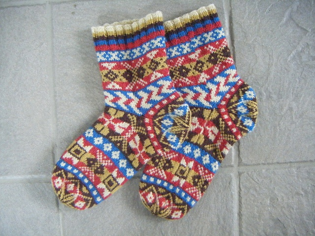 954 best Fair Isle designs images on Pinterest | Stricken, Tricot ...