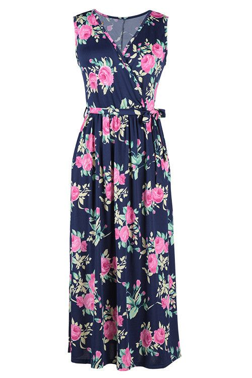 Cupshe All About U Floral Long Maxi Dress