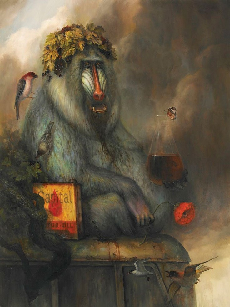 Martin Wittfooth: Heed the Beastly Witness