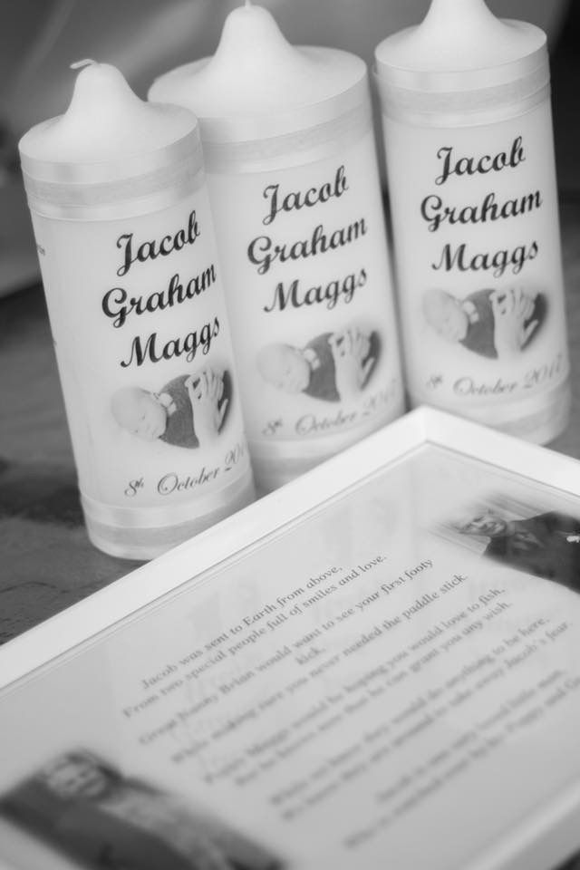 Little man theme naming day- Candles and remembrance poem #lifespreciousmoments #remembrancecandles