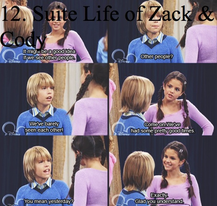 They are so young. Selena Gomez & Cole Spourse! It's funny she was that old when she met Ashley(Tisdale) & now Selena is 20 & friends with Ashley! Wow! :]