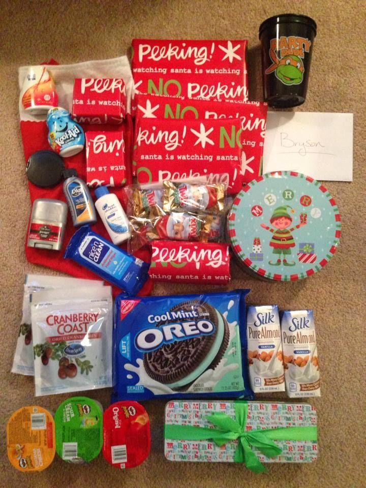 25 best ideas about christmas care package on pinterest for Diy christmas gift packages