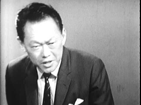 Interview with Lee Kuan Yew - This film is footage of an interview in which the Prime Minister of Singapore spoke on the Vietnam War and the problems of Southeast Asia
