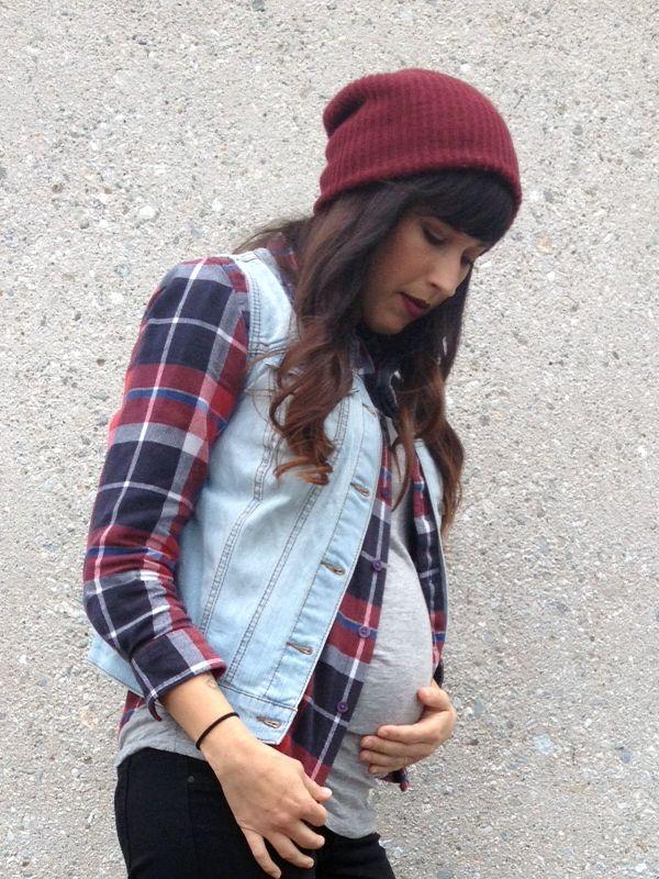 Maternity Street Style via MyCornerView