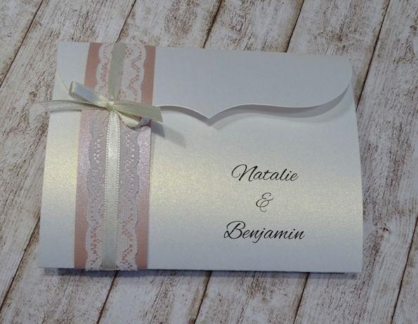 Einladung Hochzeit Vintage Mit Spitze