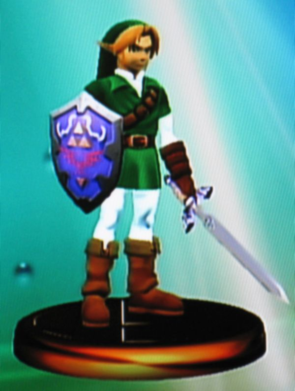 Link - The Legend of Zelda - trophy -  Super Smash Brothers Melee - Super Smash Bros Melee - Nintendo