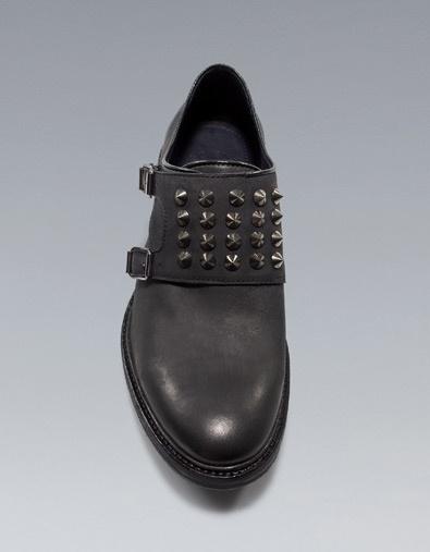 STUDDED SHOE - Shoes - Man - ZARA United States