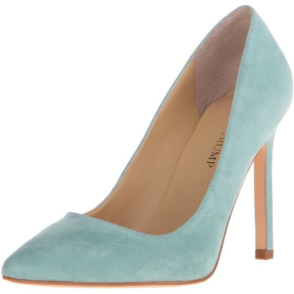 Ivanka Trump Women's Carra Dress Pump ($48) ❤ liked on Polyvore featuring shoes, pumps, heels, ivanka trump footwear, ivanka trump, dress pumps, ivanka trump pumps and ivanka trump shoes