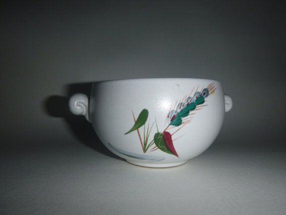 DENBY GREENWHEAT  small soup bowl by getgiftideas on Etsy
