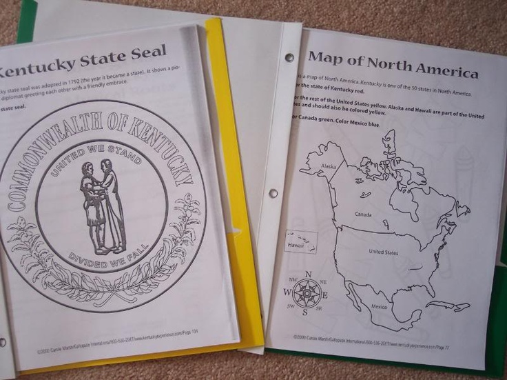 20 best teaching kentucky history images on pinterest teaching the bluegrass state a kentucky unit study sciox Image collections