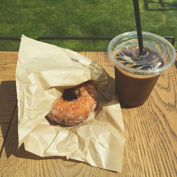 doughnut、ドーナツ、Coffee、コーヒー