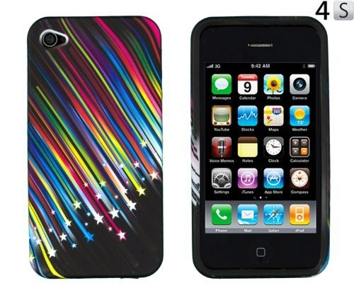 Tpu gel case for apple iphone 4 4s at verizon sprint by 24 7