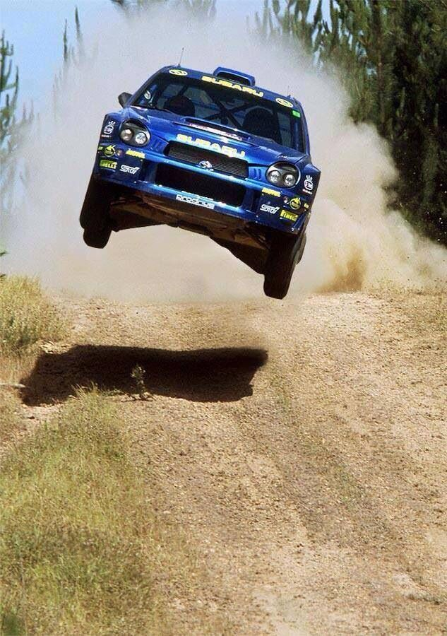 Flying Skooby. Visit www.breakeryard.co.uk for all your Subaru car parts.