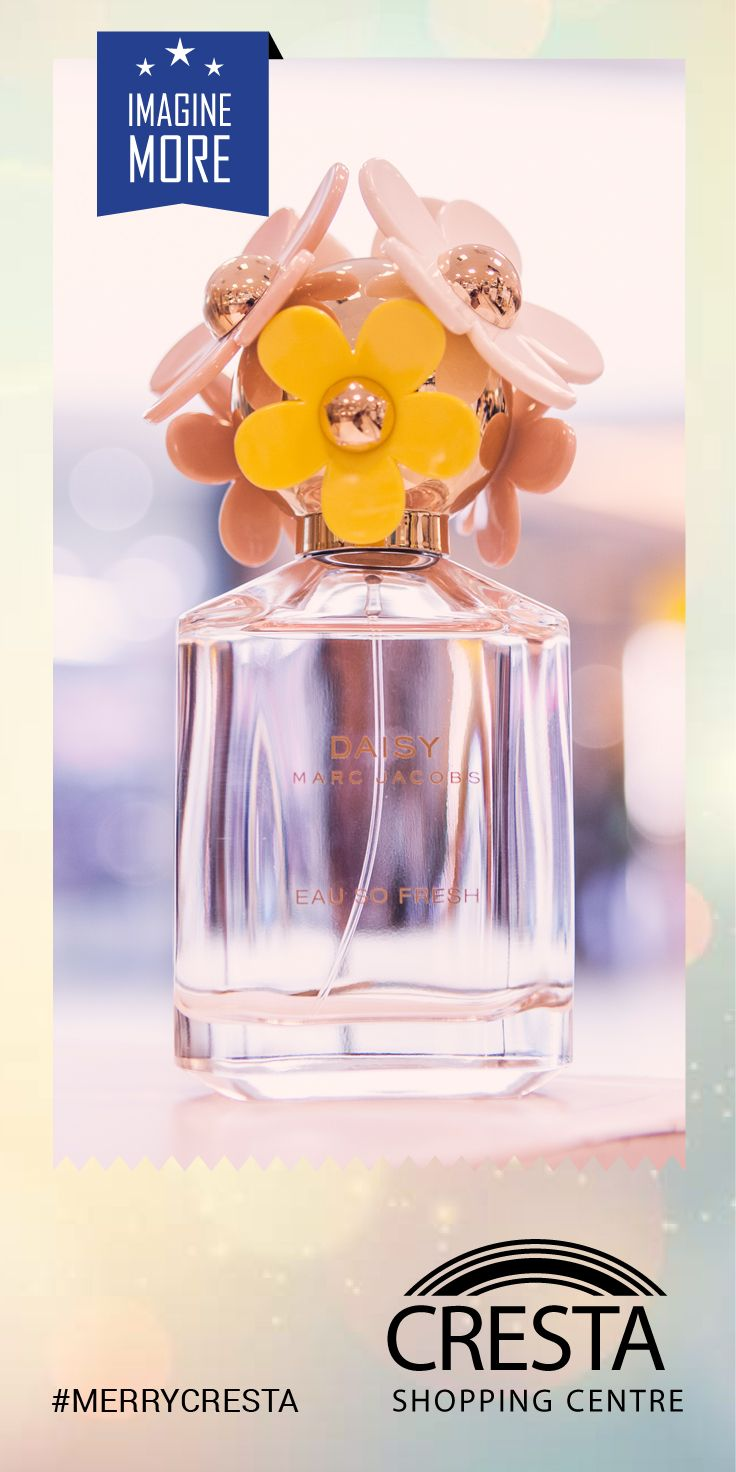 Daisy Marc Jacobs from Edgars Cresta Centre @R1130.00 #MerryCresta #Perfume #Fun #Summer #Flower #Scent #Perfume