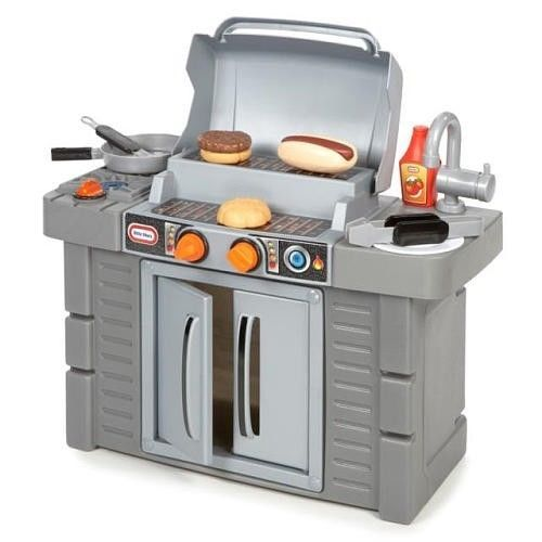 Little Tikes Cook n Grow BBQ Grill Kids Cooking Toys