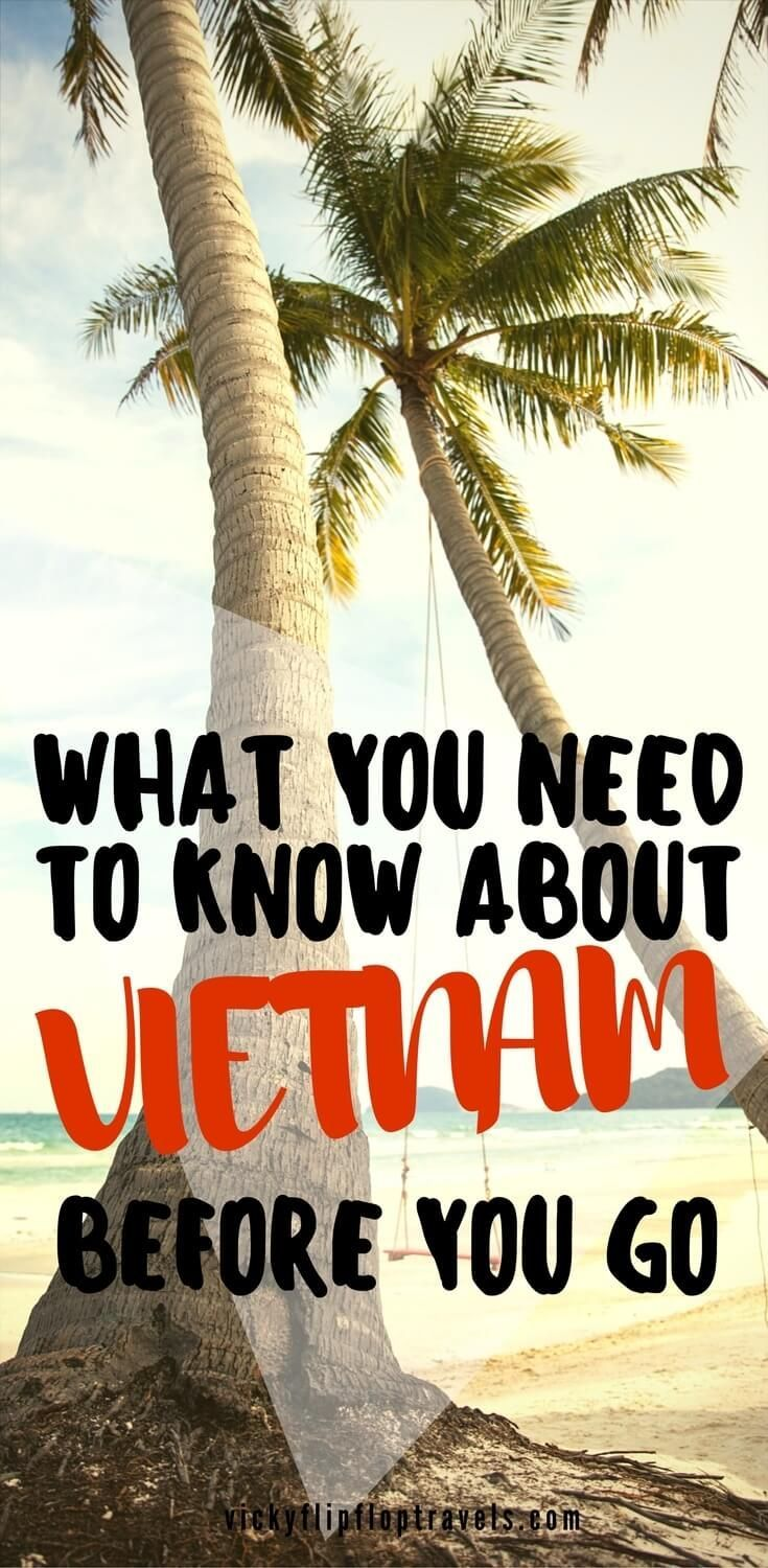 Here's everything you need to know about Vietnam before you go. #Vietnam #BudgetTravel