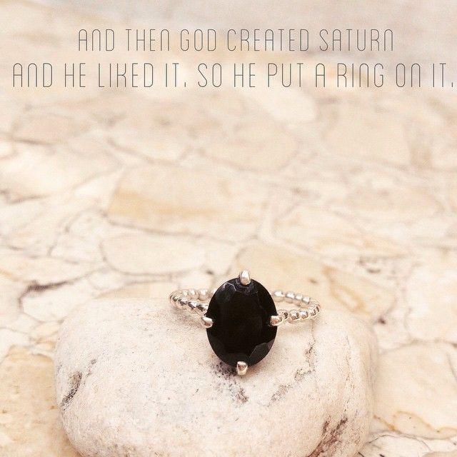 BLACK GARNET RING Simple & Elegant.. #ring #cincin #cincinunik #cincinsimple #black #brand #silver #simple #fashion #jewellery #handmade #girls #girlstuff #jakarta #bali