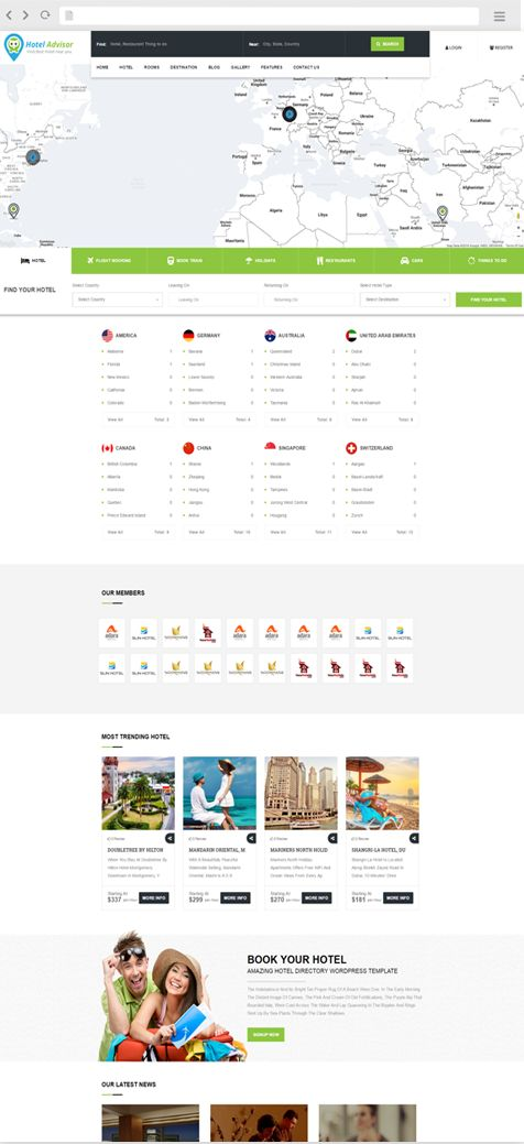 Specil offer on Our new and responsive hotel advisor WordPress theme for more detail contact us.