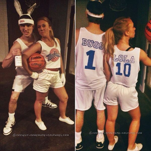 couples costume bugs bunny and lola bunny - Halloween Costumes Parties