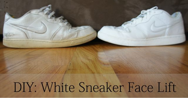 DIY: How to Clean White Sneakers