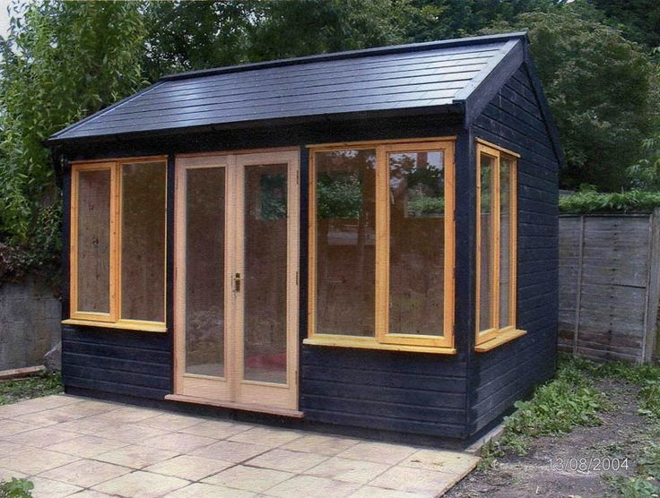 Best 25 garden studio ideas on pinterest small garden for Outside office shed