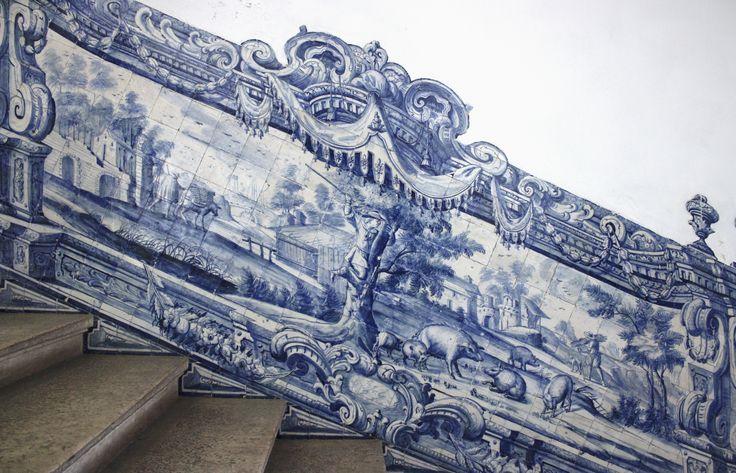 Lisboa | Hospital de São José | c. 1740 [© Az Infinitum] #Azulejo #AzulejoDoMês #AzulejoOfTheMonth #Trabalho #Labour #Lisboa #Lisbon