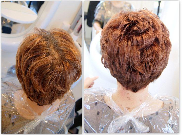 Kolor i strzyżenie. #hairstyle #fryzury