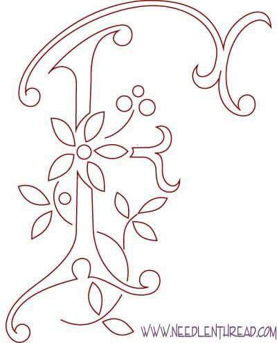 The 26 best hmzett monogramok images on pinterest monogram patterns letter f spiritdancerdesigns Images